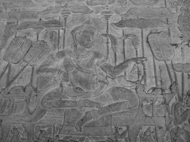 King Suryavarman II, the builder of Angkor Wat