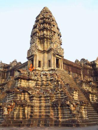 A tower of Angkor Wat.