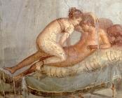 Pompeii_-_Casa_del_Centenario_-_Cubiculum_-_detail