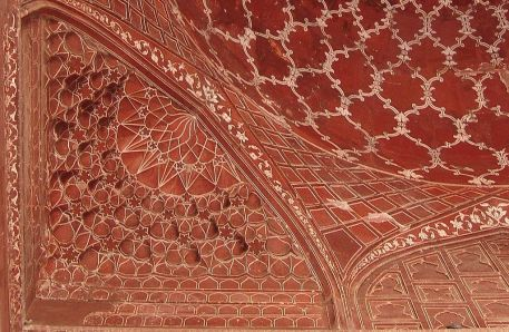 Incised painting.