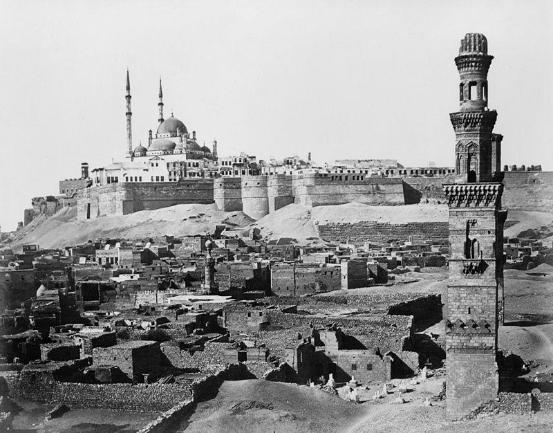 800px-Cairo-citadel-1800s