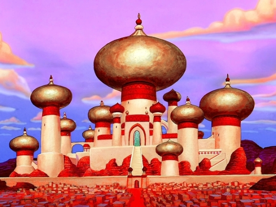 in Aladdin