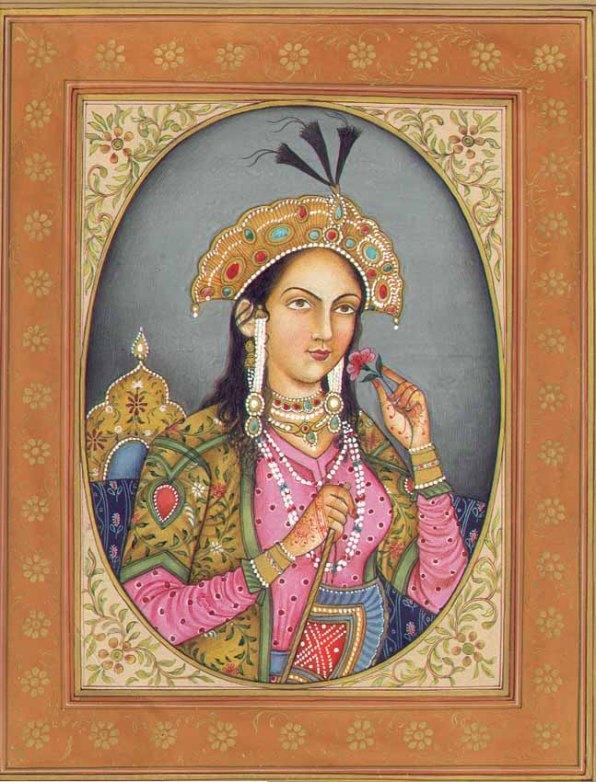 Artistic depiction of Mumtaz Mahal