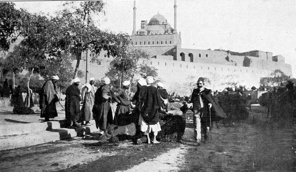 Open-air_market,_Cairo_Citadel_(1907)