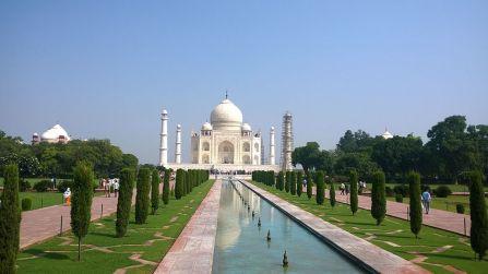Taj Mahal from Main Entrance.