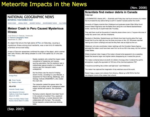 meteorites_news